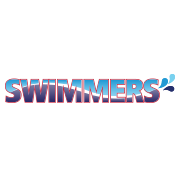 Illustrated Swimmers Logo