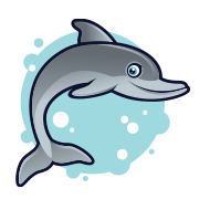 Image of Smiling Dolphin
